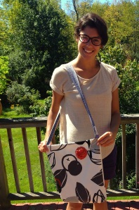 Thank you, Dana, so very much for making this bag for me.  How unexpected and very appreciated!