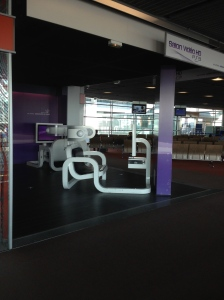 Sudden urge to lay down and play PS3? You can in Paris while you wait for your flight.
